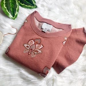 ANTHROPOLOGIE Chloe & Oliver Padma Sweater Top